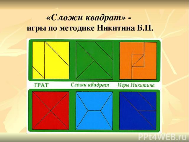 Методика знакомство с прямоугольником