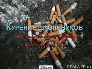 Исследовательская работа учеников 10-а и 10-б классов МОУ «Пряжинская средняя шк