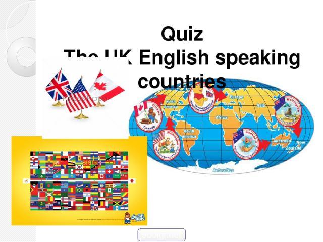 Quiz The UK English speaking countries 900igr.net