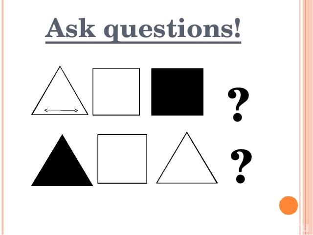 Ask questions! ? ?