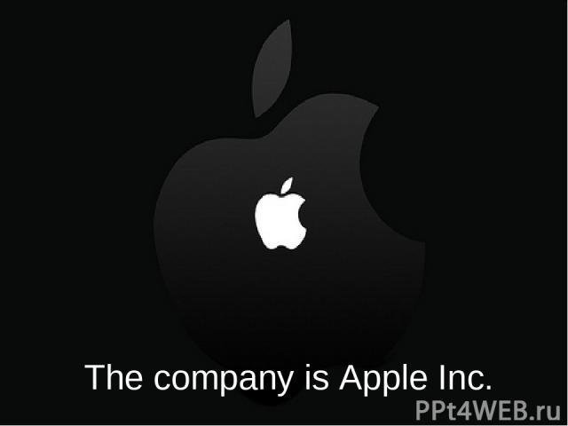 The company is Apple Inc.