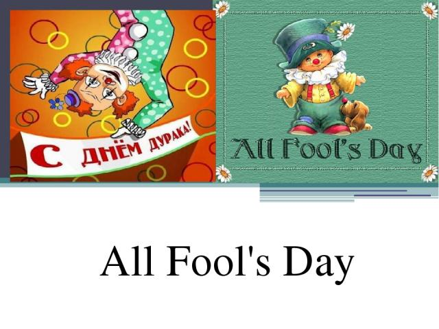 All Fool's Day