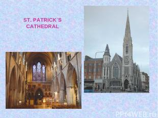 ST. PATRICK`S CATHEDRAL
