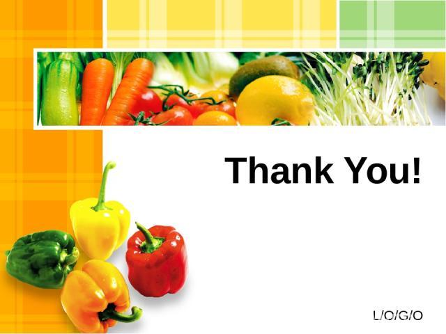 Thank You! L/O/G/O