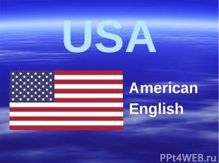USA American English