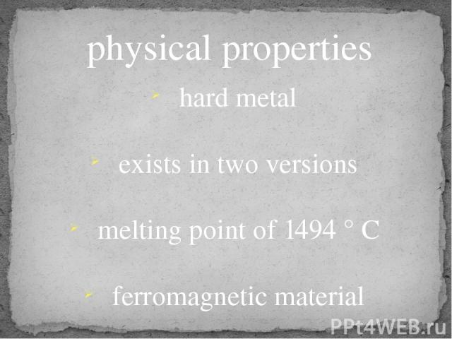 physical and chemical properties of plastics
