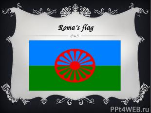 Roma's flag