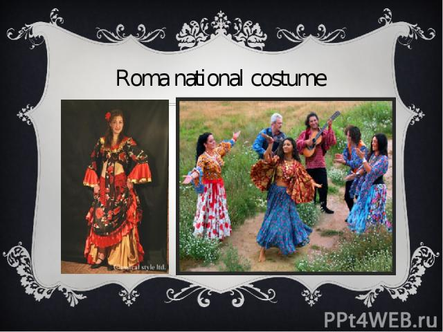Roma national costume