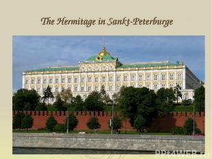 The Hermitage in Sankt-Peterburge