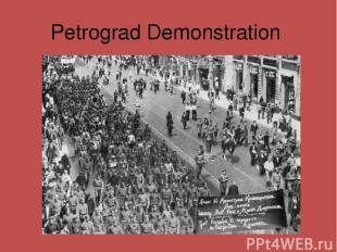 Petrograd Demonstration