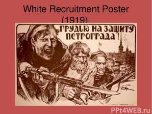 White Recruitment Poster (1919)
