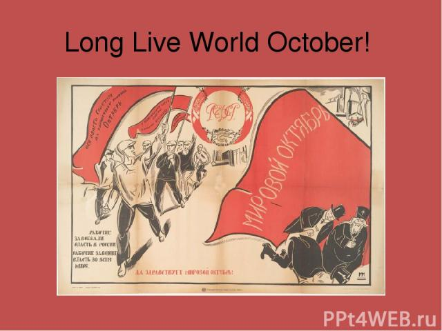 Long Live World October!