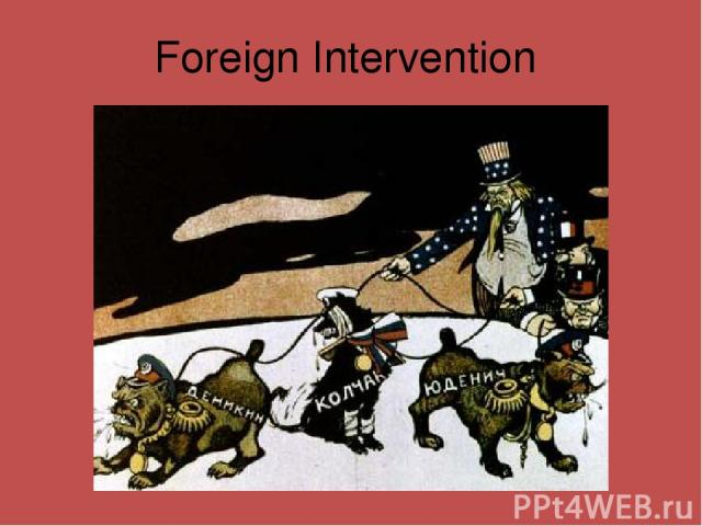 Foreign Intervention