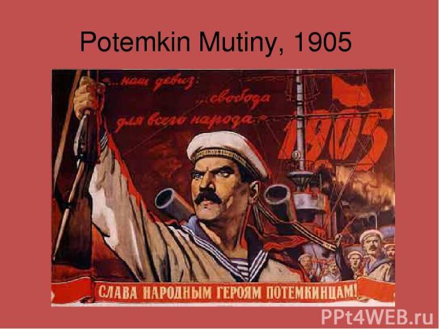 Potemkin Mutiny, 1905