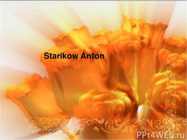 Starikow Anton