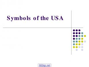Symbols of the USA 900igr.net