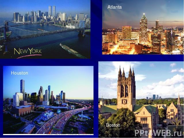 Atlanta Boston Houston