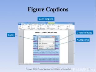 Figure Captions Copyright © 2011 Pearson Education, Inc. Publishing as Prentice