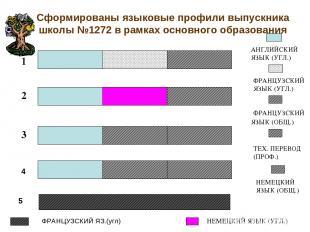 Сформированы языковые профили выпускника школы №1272 в рамках основного образова