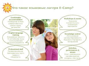 English language training Ежедневные тренинги по английскому языку с использован
