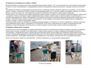 5) Знакомство потенциальных хозяев с собакой Волонтёр знакомит потенциальных хоз