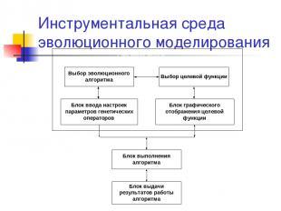 Инструментальная среда эволюционного моделирования