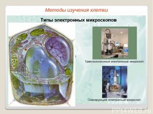 Методы изучения клетки