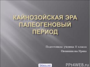 Подготовила: ученица 11 класса Овчинникова Ирина 5klass.net