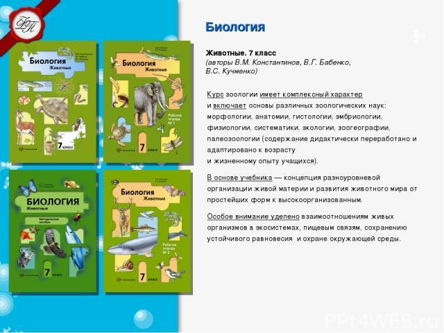 Читать онлайн книгу по биологии 7 класс константинова