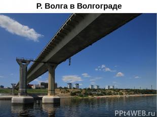 Р. Волга в Волгограде