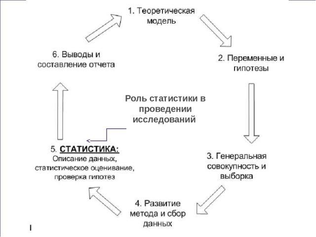 Роль статистики в проведении исследований