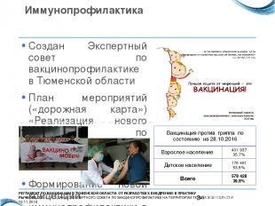 Иммунопрофилактика Создан Экспертный совет по вакцинопрофилактике в Тюменской об
