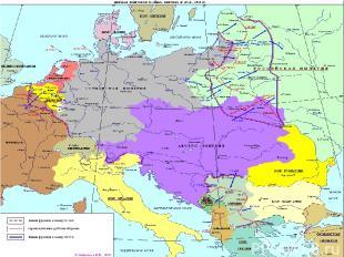 А что непосредственно подтолкнуло Россию к вступлению в альянс против Германии,