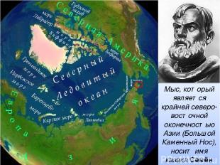 Мыс, который является крайней северо-восточной оконечностью Азии (Большой Каменн