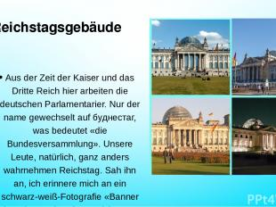 Reichstagsgebäude Aus der Zeit der Kaiser und das Dritte Reich hier arbeiten die