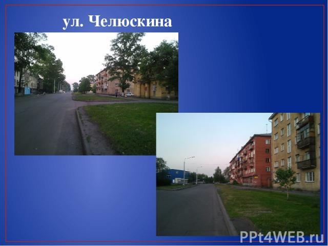 ул. Челюскина