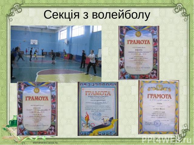 Секція з волейболу