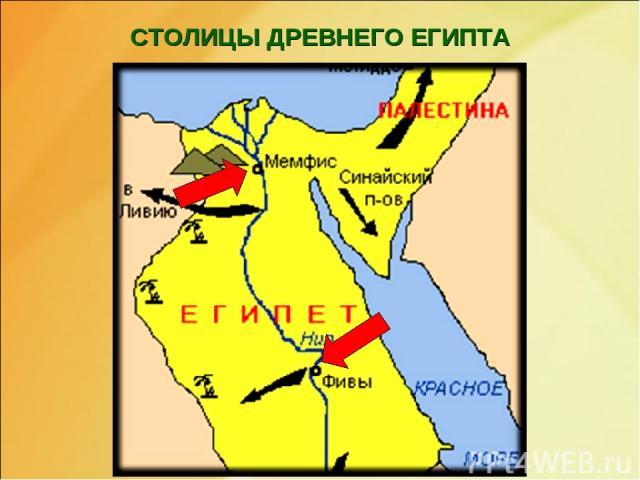 СТОЛИЦЫ ДРЕВНЕГО ЕГИПТА