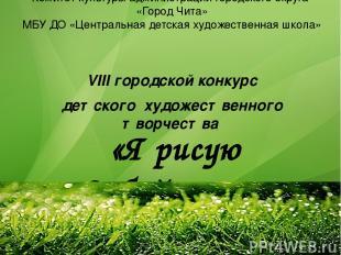 Комитет культуры администрации городского округа «Город Чита» МБУ ДО «Центральна