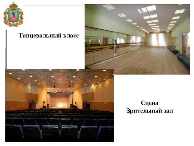 Танцевальный класс Сцена Зрительный зал