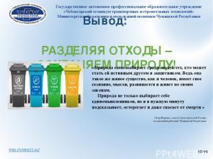 Государственное автономное профессиональное образовательное учреждение «Чебоксар