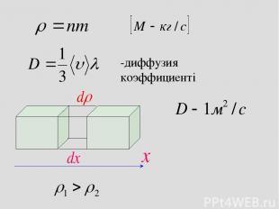 -диффузия коэффициенті