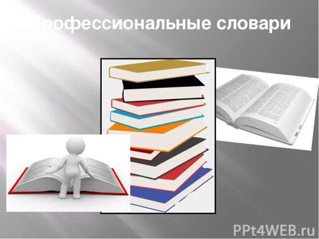 Профессиональные словари