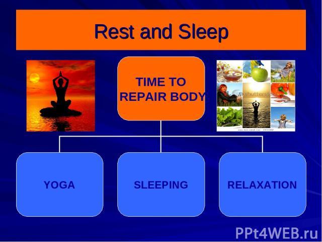 Rest and Sleep