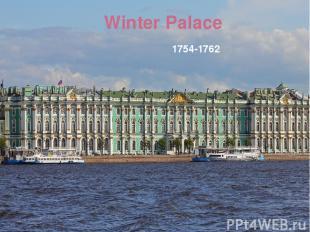 Winter Palace 1754-1762